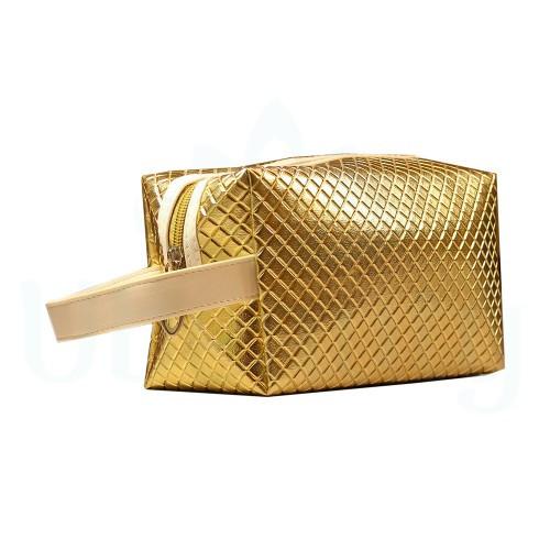 Косметичка пенал, органайзер для інструментів, колір золотий