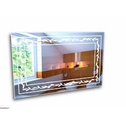 Зеркало с лед подсветкой. Лед зеркало для ванной комнаты