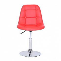 Кресло парикмахерское HC-1801N красный
