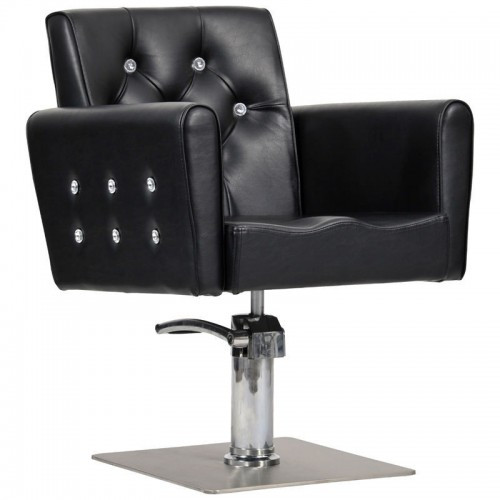 Парикмахерское кресло Briliant черное