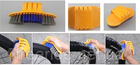 Набор для мойки обслуживания чистка велосипеда (6 предметов), фото 2