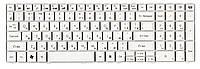Качественная клавиатура для ноутбука Acer Packard Bell TM81 White, No Frame, RU