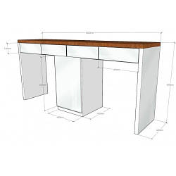 Столик для салона красоты