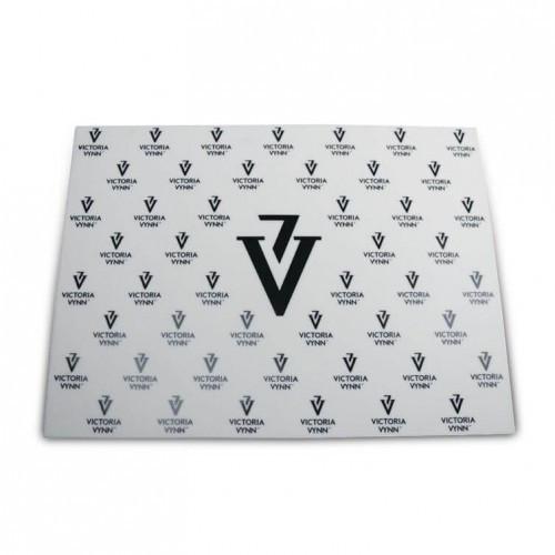 Силиконовый коврик Victoria Vynn 40х30 см с подставкой для рук, белый, комплект, набор