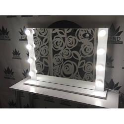 Зеркало с лампами для дома, настенное