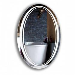 Овальное зеркало для ванной комнаты 600*900