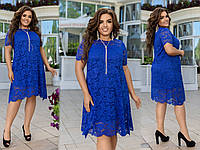 Гипюроео платье большие размеры 48-50, 52-54, 56-58., фото 1
