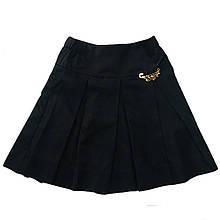 Школьная юбка складка для девочки, 128см