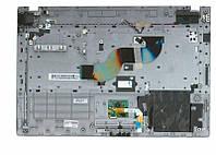Качественная клавиатура для ноутбука Samsung RC410, RV411, RV412, RV415, RV420 Black, с топ панелью Gray, RU