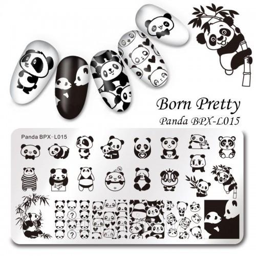 Пластина для стемпинга Born Pretty Panda BPX-L015