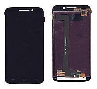 Матрица с тачскрином модуль для Prestigio MultiPhone 7600 DUO черный