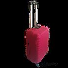 Чехол на чемодан Coverbag неопрен  L бордо, фото 3