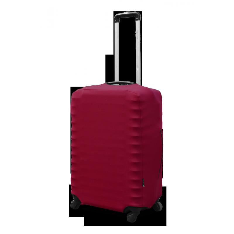 Чехол на чемодан Coverbag неопрен  L бордо