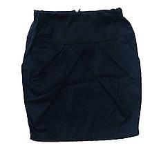 Школьная юбка карандаш с кармашками для девочки,