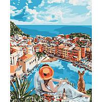 Картина по номерам на холсте Итальянская романтика (КНО4647) 40х50 Идейка