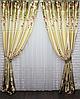 Модный комплект штор для гостинной фотошторы, фото 4