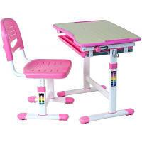 Парта со стулом FunDesk Piccolino Pink (PICCOLINO PINK)