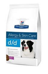 Сухой корм Hills Prescription Diet™ Canine d/d™  со вкусом утки и риса 12 кг