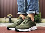 Мужские кроссовки Asics (темно-зеленые) 9617, фото 3