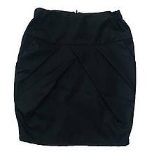 Школьная юбка карандаш с кармашками для девочки, 128см