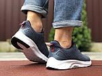 Мужские кроссовки Asics (сине-серые с белым) 9620, фото 4