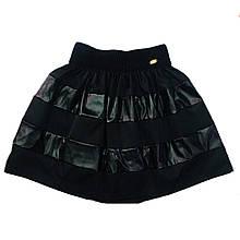 Школьная юбка колокол для девочки, 134см