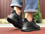 Мужские кроссовки Asics (черные) 9622, фото 3