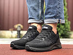 Мужские кроссовки Asics (черные) 9622, фото 4