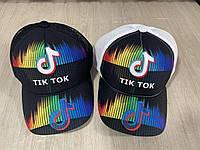 """Кепка підліткова """"Tik Tok"""" розмір 52-55 см, кольору при замовленні вказуйте"""