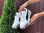 Женские кроссовки Puma Cali Bold (бело-черные) 9624, фото 2