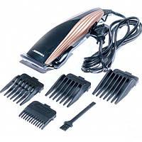 Машинка для стрижки волос Tiross TS-407 4 насадки