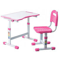 Парта со стулом FunDesk Sole II Pink