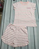 Пижама летняя детская в мягких тонах, фото 1