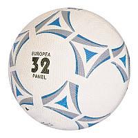 Мяч футбольный VA-0047 (30шт) размер 5, резина Grain, 350г, сетка, игла, в кульке