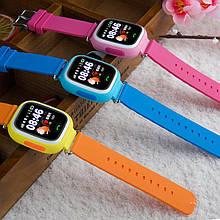 Smart Baby Watch Q100 Детские Умные Часы (Blue Pink)