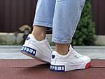 Женские кроссовки Puma Cali Bold (бело-красные с синим) 9626, фото 2