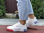 Женские кроссовки Puma Cali Bold (бело-красные с синим) 9626, фото 4