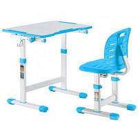 Парта со стулом FunDesk OMINO BLUE