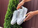 Жіночі кросівки Puma Cali Bold (сіро-білі) 9627, фото 3