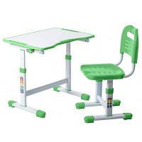Парта со стулом FunDesk Sole II Green
