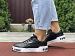 Жіночі кросівки Puma Cali Bold (чорно-білі) 9630, фото 3