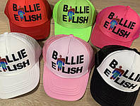 """Кепка-тракерподростковая для девочки """"Billie Eilish"""" размер 52-55 см, цвета указывайте при заказе"""