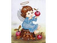 Набір для вишивання Т-0532 Янголятко з яблучком