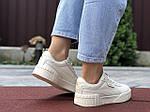 Жіночі кросівки Puma Cali Bold (бежеві) 9631, фото 2