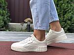 Жіночі кросівки Puma Cali Bold (бежеві) 9631, фото 4
