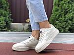 Жіночі кросівки Puma Cali Bold (бежеві) 9631, фото 3