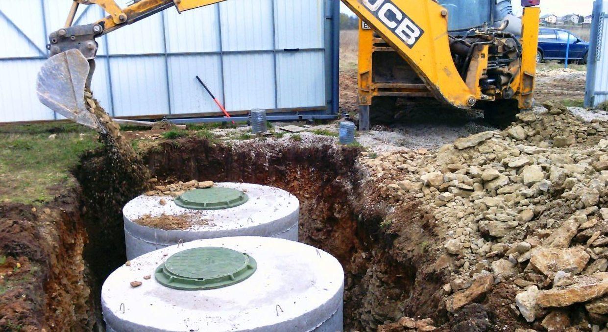 Строим септики,выгребные ямы,Автономная канализация в частном доме