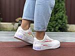 Жіночі кросівки Puma Cali Bold (білі хамелеони) 9634, фото 2