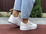 Женские кроссовки Puma Cali Bold (белые) 9635, фото 2