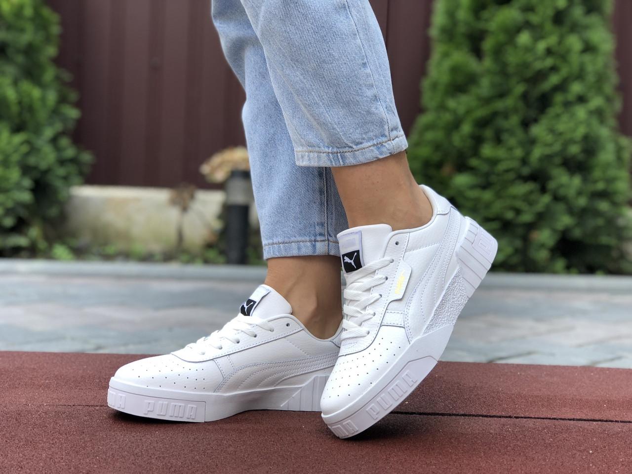 Женские кроссовки Puma Cali Bold (белые) 9635